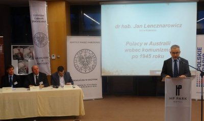 Panel V - referuje dr hab. Jan Lencznarowicz